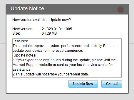 Updating B315 Firmware – Vetta Online